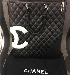 Chanel Cambon Tote Bag A4 size 手提袋