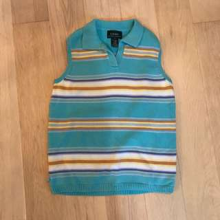Vintage 80s Ralph Lauren lolo knit tank top