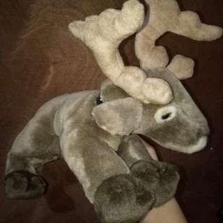 Reindeer stuffed toys