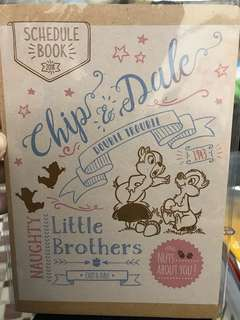 Schedule Book Chip&Dale