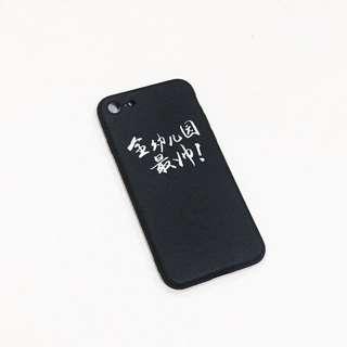 iphone7/8 BlackSoft Case