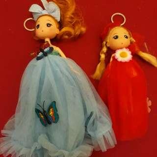Gantungan tas boneka