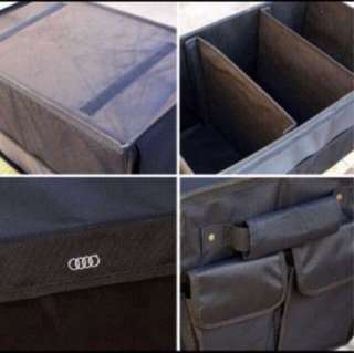 Car boot storage organizer for AUDI