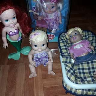 Baby Alive Disney Mattel and carrier