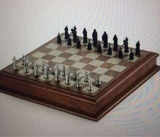Royal Selangor Camelot Chess Set
