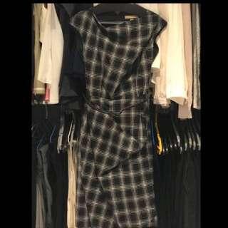 Michael Kors Plaid Dress