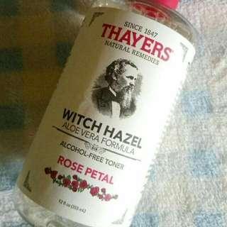 Toner Thyers Witch Hazel
