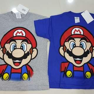 Mario Bro T shirts (kids)