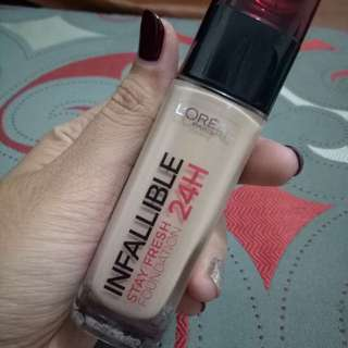 Loreal Infallible Stay Fresh Foundation 24hr