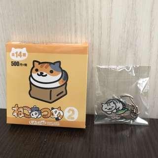 *全新* Neko atsume key chain 貓 鎖匙扣 女朋友 DIY