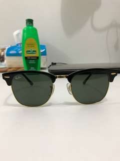 Repriced!! RayBan Clubmaster Classic RB3016