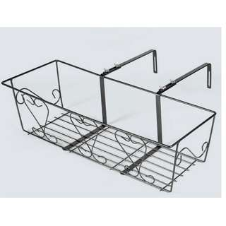 Large 67cm Rectangular Planter Hanger with Adjustable bBracjets