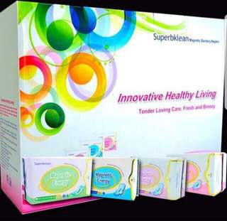 LongRich-Superbklean Magnetic Sanitary Napkins/Health Product