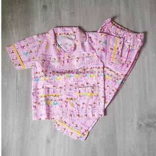 Brand New Handmade Premium Girl Pyjamas - Ballerinas