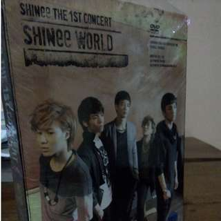 Dvd shinee the 1st concert in seoul