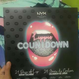 Nyx lippie countdown