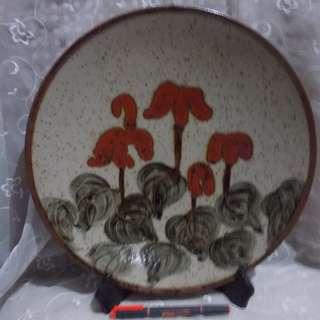 Vintage Japanese Wall Plate