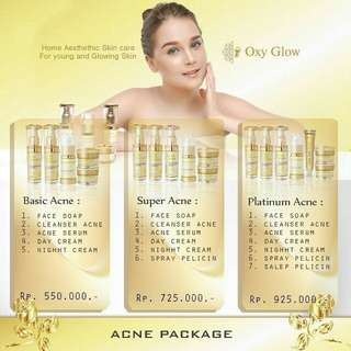 Oxyglow Acne Package