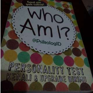 Who Am I?  @PsikologID