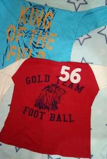 preLoved 3/4's shirt for kids