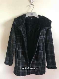Uniqlo Jacket Checkered Black