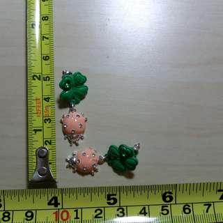 全新 搞鬼 法國 N2 Bud earrings CUTE 甲蟲耳環
