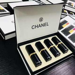 Chanel 4pcs Lipstick Set