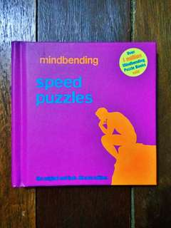 Mindbending Speed Puzzles Book