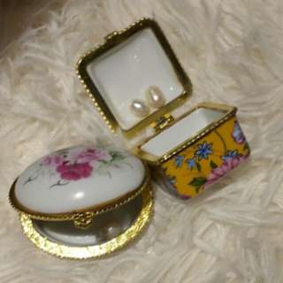 Mini Vintage Jewellery Box