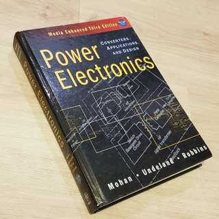 Power Electronics - Converters, Applications and Design 3rd Edition