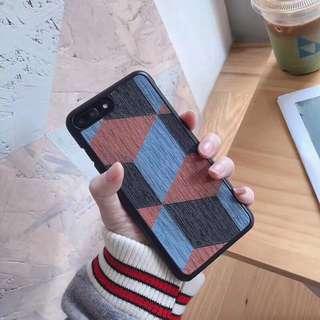 網紅同款菱形幾何 iphone 6 plus手機殼