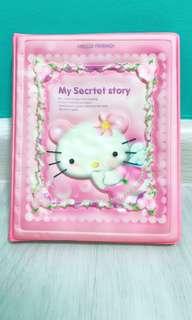 Pink cute cat notebook (brand new)