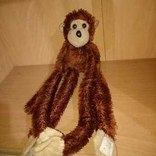 Monkey w/ velcro hands