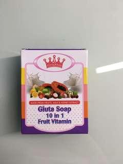 Gluta Soap 10in1 Fruit Vitamin
