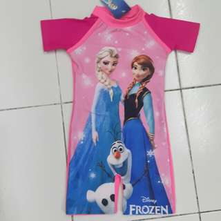 New-Frozen theme swimming suit