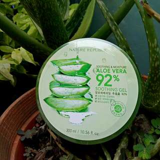 (New 100% ori) Nature Republic Aloe Vera Soothing Gel
