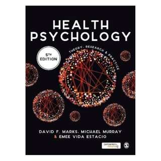 (Ebook) Health Psychology: Theory, Research and Practice by David F. Marks, Michael Murray, Emee Vida Estacio