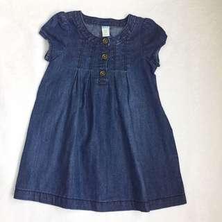 Old navy baby denim dress