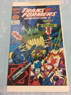 TRANSFORMERS GENERATION 2: GHOST IN THE MACHINE HALLOWEEN SPECIAL EDITION! MARVEL 1993