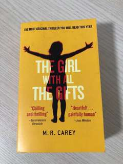 The Girl with all the gifts novel by M. R. Carey
