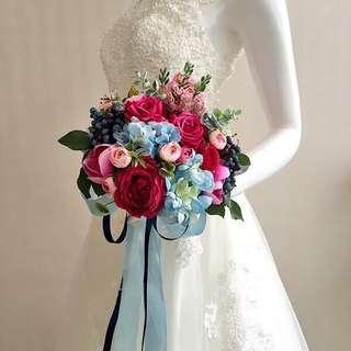 Bridal Bouquet | Stimulated Flower | Wedding Flower | Wedding Decor