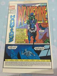 Wolverine 1993 Halloween Special Edition