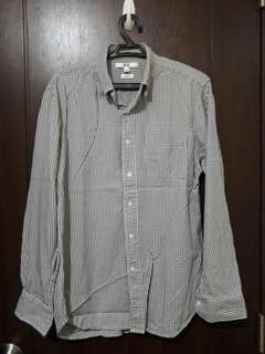 Gray Checkered Longsleeves