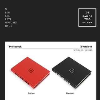 [PREORDER] VIXX (빅스) - 3rd ALBUM / EAU DE VIXX