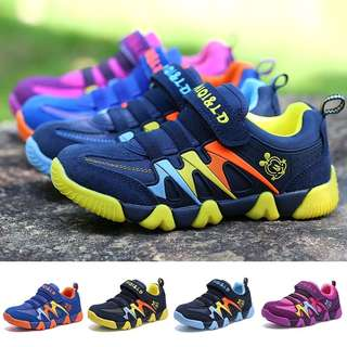 [PRE-ORDER] CHILDREN CASUAL SPORTS SHOES KIDS BREAYHABLE SNEAKERS BOYS RUNNING SHOES