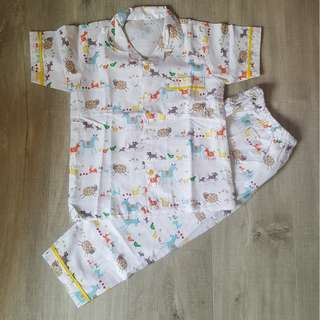 Brand New Handmade Premium Boy Pyjamas - Farm Animals
