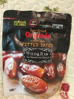 Sun-dried Organic Pitted Dates