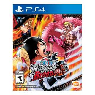 PS4 One Piece: Burning Blood