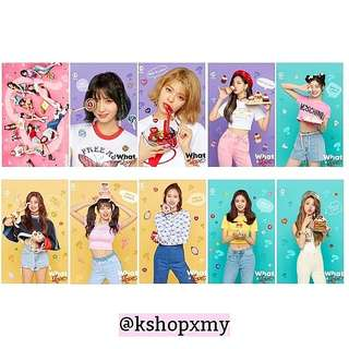 Twice ' What Is Love? ' Transparent Photocards