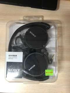 🚚 Sony MDR-ZX110 耳罩式耳機 黑